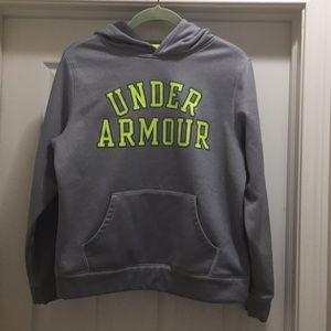 PRICE CUT!! Under Armor boys hoodie